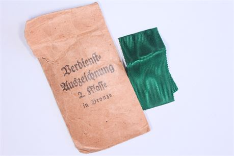 Packet for Eastern People Medal with Ribbon