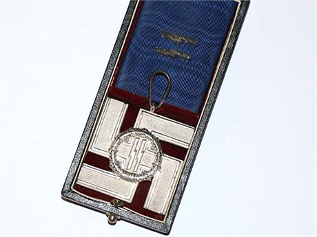 SS Long Service Award for 25 Years